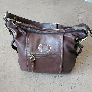 Giani Bernini Hobo Style Tote Bag Leather Purse